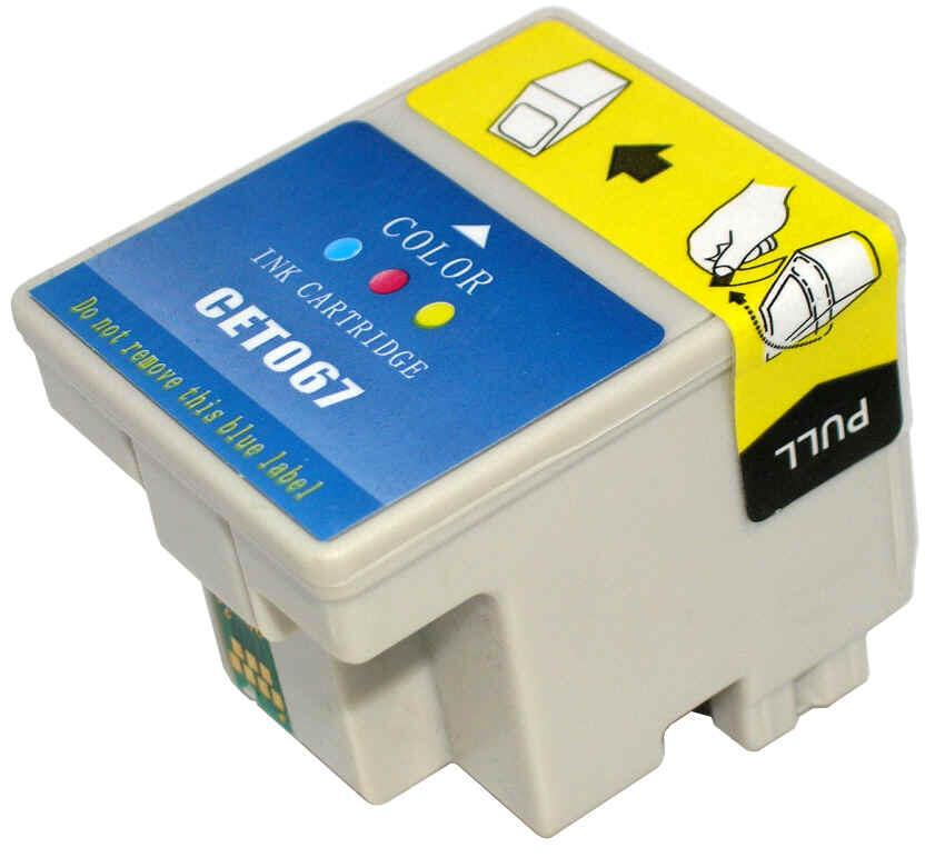 EPSON T067 COR COMPATIVEL