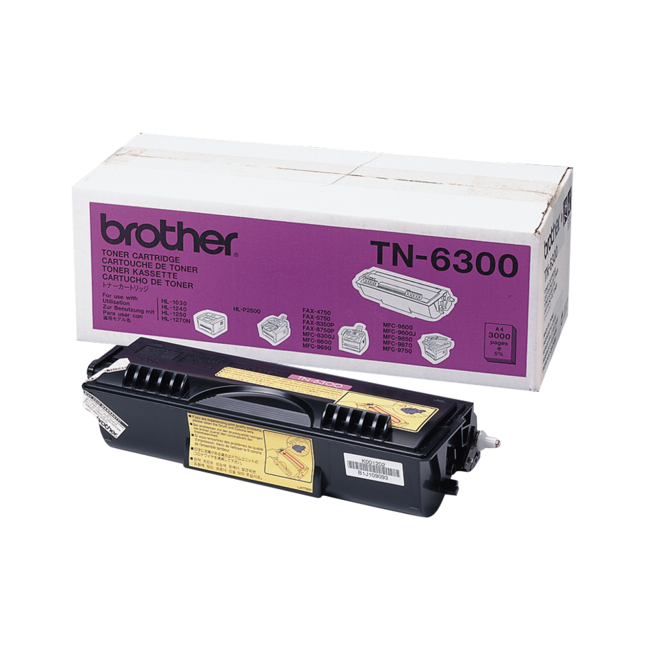 BROTHER TN6300 ORIGINAL