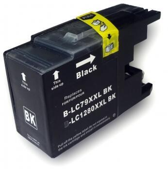 BROTHER LC1280XL TINTEIRO PRETO COMPATIVEL