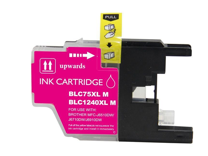 BROTHER LC1280XL TINTEIRO MAGENTA COMPATIVEL