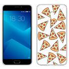 Capa Meizu M5 Note Clear Pizza