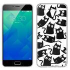 Capa Meizu M5s Clear Cats
