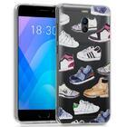 Capa Meizu M6 Note Clear Shoes